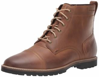 Cole Haan Men's Nathan Cap Boot:Light Roast Fashion Boot