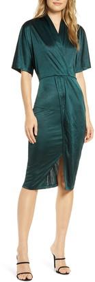 Leota Willow Faux Wrap Dress