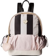Betsey Johnson Two-Pocket Backpack