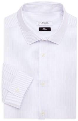 Versace Trend-Fit Pinstripe Shirt