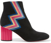 Missoni Suede Ankle Boots