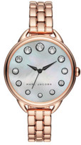 Marc by Marc Jacobs Betty Rose Gold Stainless Steel Watch