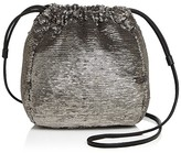 Halston Sequin Drawstring Crossbody