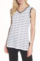 Ming Wang Stripe Long Tank