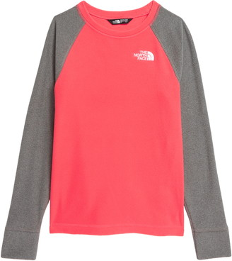 The North Face Kids' Glacier Recycled Polyester Fleece Sweatshirt
