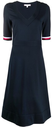 Tommy Hilfiger V-Neck Knit Dress