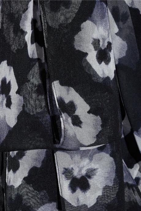 Prabal Gurung Floral-print silk-chiffon dress