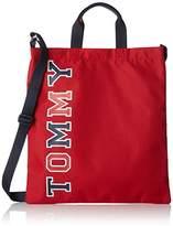 Tommy Hilfiger Th Fun Shopper, Boys' Bag, Rot (Corporate), 1x36x33 cm (B x H T)