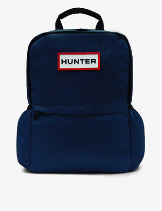Hunter Original logo-embellished nylon backpack