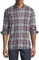 Joe's Jeans Jimmy Plaid Flannel Shirt