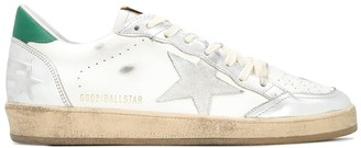 Golden Goose Ballstar Laminated Toe And Spur Leather Upper Suede Star
