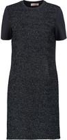 Tory Burch Tinsel-paneled jersey mini dress