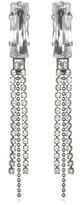 Frangos Fancy Crystal Fringe Earrings