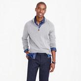 J.Crew Italian cashmere half-zip sweater
