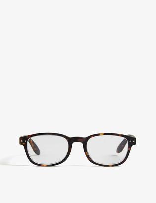 Izipizi #B Reading square-frame glasses +1