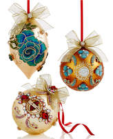 Mark Roberts Jeweled Ornaments Collection