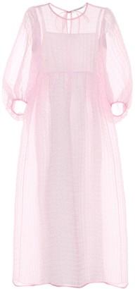 Cecilie Bahnsen Karmen silk-blend maxi dress