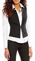 Antonio Melani Jill Quilted Suiting Vest