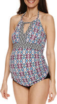 A.N.A a.n.a Pattern Tankini Swimsuit Top-Maternity