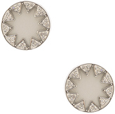 House Of Harlow Pave Sunburst Earrings