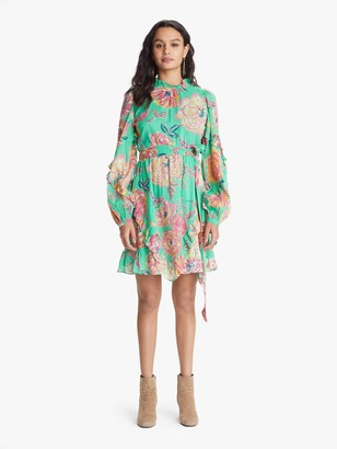 Banjanan Lila Dress - Eliza's Rose Garden Island Green
