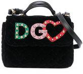 Dolce & Gabbana logo patch bag