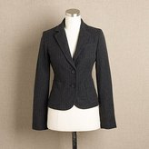 Pinstripe washed wool jacket