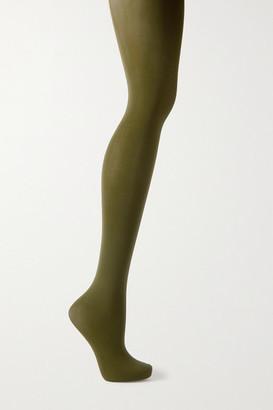 Falke Pure Matt 50 Denier Tights - Green