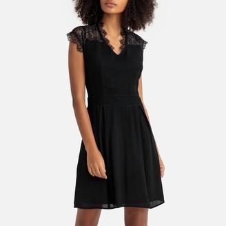 Molly Bracken Laced Short Skater Dress