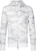 Loveless - camouflage zip-up sweatshirt - men - Cotton/Polyester/Tencel - 1