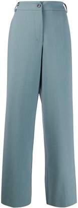 Danielapi high-rise wide-leg trousers