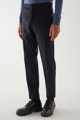 Cos Straight-Leg Wool-Cashmere Pants