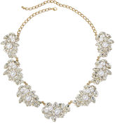 Natasha Accessories Natasha Simulated Pearl and Crystal Pendant Necklace