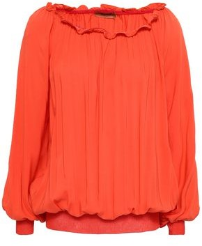 Missoni Gathered Voile Blouse
