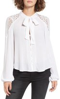 Band of Gypsies Lace Poet Blouse