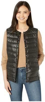 Lauren Ralph Lauren Packable Soft Down Vest (Black) Women's Clothing