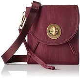 Baggallini Gold International Athens Rfid Cross-Body SCR Wallet