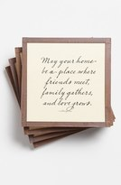 Ben's Garden 'May Your Home Be A Place' Coaster Set