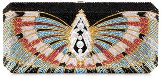 Judith Leiber Couture Victory Slim Rectangle Crystal Clutch
