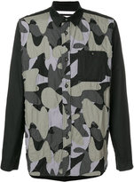 White Mountaineering collage shirt