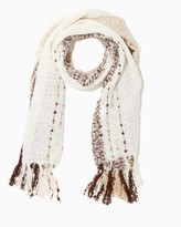Charming charlie Boucle Blanket Scarf