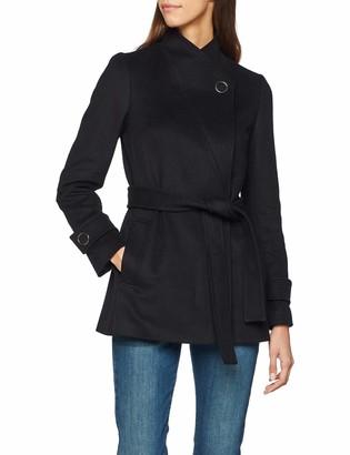 Karen Millen Women's Chic Investment Wrap Coat