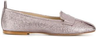 Anna Baiguera glitter ballerina shoes
