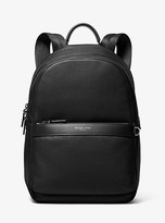 Michael Kors Greyson Pebbled Leather Backpack