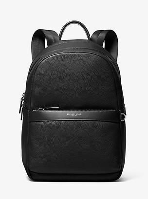 Michael Kors Greyson Pebbled Leather Backpack