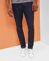 Straight Fit Rinse Wash Jeans