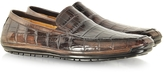 Pakerson Coffee Alligator Loafer