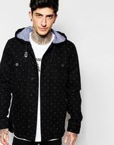 Vans Jacket In Polka Dot Print - Black