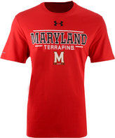 Under Armour Men's Maryland Terrapins Charged Cotton T-Shirt
