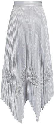 Intermix Liz Pleated Midi Skirt